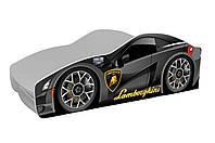 Кровать машина Lamborghini металлик – это стильное дополнение к детской комнате, фото 1