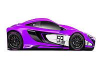 Кровать-машинка Макларен фиолетовая 1640*836 мм - 2908,00 грн.
