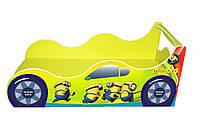 Кровать-машинка Minions желтый 1590*736 мм - 2815,00 грн.