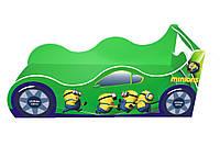 Кровать-машинка Minions зеленая 1740*936 мм - 3208,00 грн.