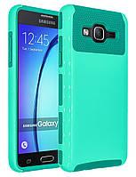 Противоударный гибридный двухслойный бампер для Samsung Galaxy On5 (2015 Released)