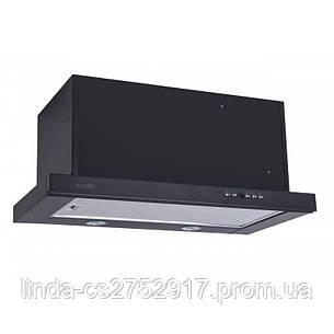 Кухонная вытяжка  GARDA 60 BK D5 (1000) EU VentoLux, фото 2