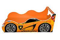 Кровать-машина ДРАЙВ Ламборджини оранжевая, фото 1