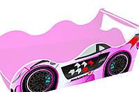 Кровать-машинка ДРАЙВ Макларен розовая 1440*736 мм - 2697,00 грн.