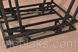 """Стол-трансформер """"Дельта"""" для кухни со стеклом  Микс Мебель, фото 2"""