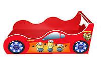 Кровать-машинка Minions красная 1590*736 мм - 2815,00 грн.
