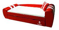 Диван-кровать Феррари красный 2550*840*700 спальное место 1900*800 без матраса - 4999 грн.