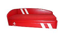 Кровать-диван Grand Light красная ФЕРРАРИ 2000*840*700 спальное место 1900*800 , фото 1