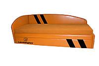 Кровать-диван Grand Light Ламборджини с черными полосами Без выездного ящика -4 131 грн., фото 1