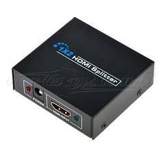 HDMI Splitter 1x2 v1.4,  Full 3D 4Kx2K металл