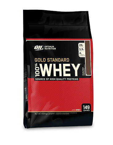 Протеин 100% Whey Gold Standard Optimum nutrition USA 4,5 кг, фото 2