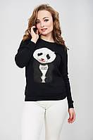 Толстовка женская с накаткой панда