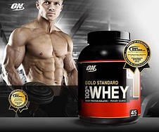 Протеин 100% Whey Gold Standard Optimum nutrition USA 4,5 кг, фото 3