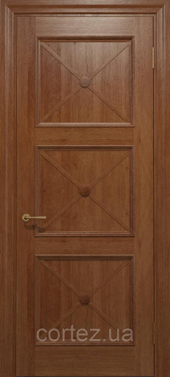 Межкомнатные двери шпон Модель С021 - фото 3
