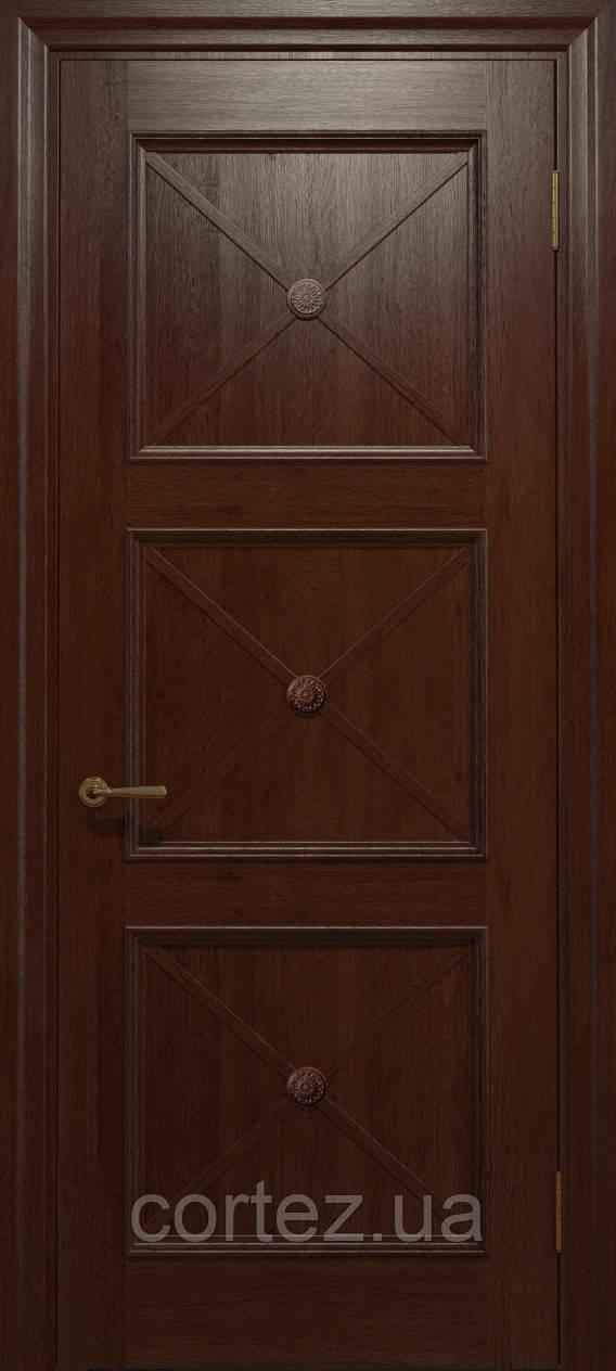 Межкомнатные двери шпон Модель С021 - фото 4