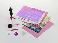 Швейный набор «Берлин» с материалами, инструкциями и рисунком