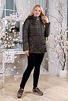 Батальная демисезонная куртка В-1107 Лаке Тон 8 хаки 48-60 размеры
