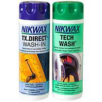 Пропитка + средство для стирки мембран Nikwax Twin Pack (Tech Wash 300ml + TX Direct 300ml)