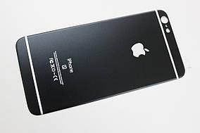 Захисне скло 4D Metal Back для iPhone 6 Plus / 6s Plus (на задню кришку)