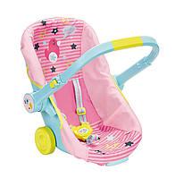Кресло люлька переноска куклы Беби Борн 3 в 1 Baby Born Travel Seat Zapf Creation 824412, фото 1