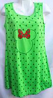 Женская ночная рубашка (р.XL-5XL) купить оптом
