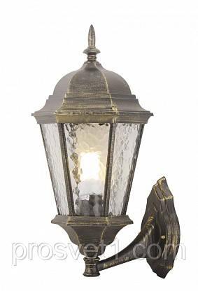 Уличный настенный светильник Arte Lamp Genova A1201AL-1BN