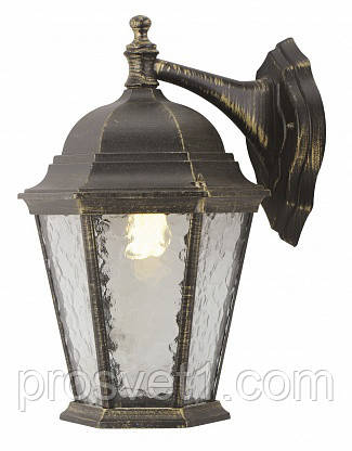 Уличный настенный светильник Arte Lamp Genova A1202AL-1BN
