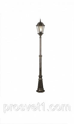 Садово-парковый светильник Arte Lamp Genova A1207PA-1BN