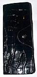 Женские вертикальные кожаные визитницы в лаке 7,5*19,5 см, фото 3