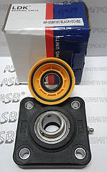 Термопластовый корпус з підшипником з нержавійки і системою захисту від води Water-proof WP-SSBF205 BLACK+OC+BS