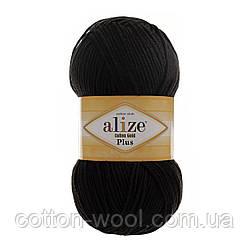 Alize Cotton Gold Plus (Ализе Коттон голд плюс) 60 черный