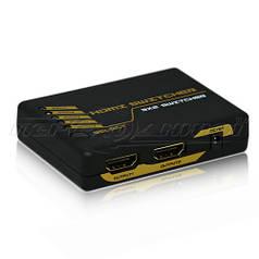 HDMI Switch/Splitter 3х2, HDMI Коммутатор / Разветвитель 3х2, с пультом