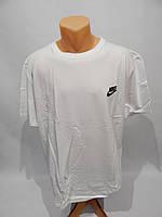 Мужская футболка Nike реплика р.52  003Ф белая, фото 1