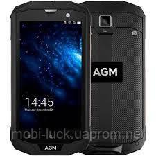 Противоударный смартфон AGM A8 SE   2 сим,5 дюймов,4 ядра,16 Гб,13 Мп,4050 мА\ч,IP68.