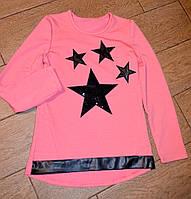 Качественная туника для девочек подростков с звездочками Код:650376588