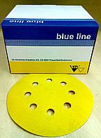 Абразивный диск SIA Blue Line - P80, D125, 8 отверстий.