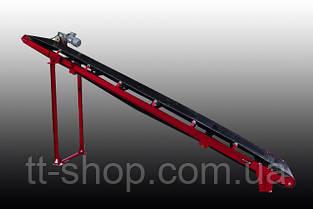 Ленточный желобчатый конвейер длинной 10 м, ширина ленты 600 мм, фото 3