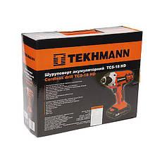 Шуруповерт (гайковерт) акумуляторний Tekhmann TCS-18 HD Li, фото 2