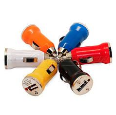 Автомобильное зарядное устройство USB 5V 1A (1USB)