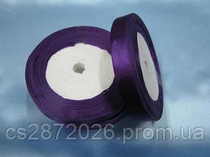 Лента атлас 12 мм, фиолетовый