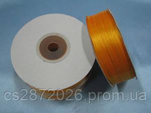 Лента атлас 3 мм, оранжевый