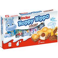 Батончики Киндер Happy Hippo 103,5 г.