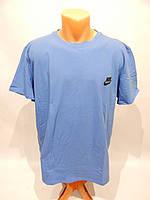 Мужская футболка Nike реплика р.52  006Ф голубая, фото 1