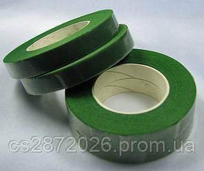 Флористическая лента, цвет зеленый