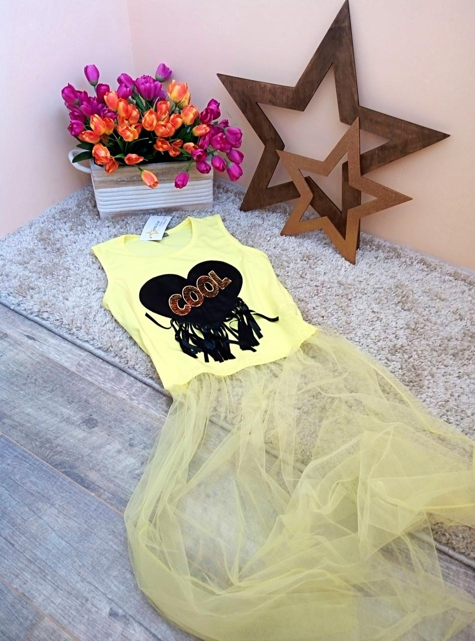 Туника-футболка COOL для девочки 6-16 лет Турция Little star