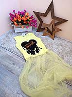 Туника-футболка COOL для девочки 6-16 лет Турция Little star, фото 1