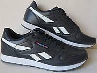 Reebok classik since 1983 мужские кроссовки в стиле Рибок 46 47 48  кросовки кожа синяя, фото 1