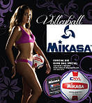 Волейбольные мячи Mikasa - Старт продаж