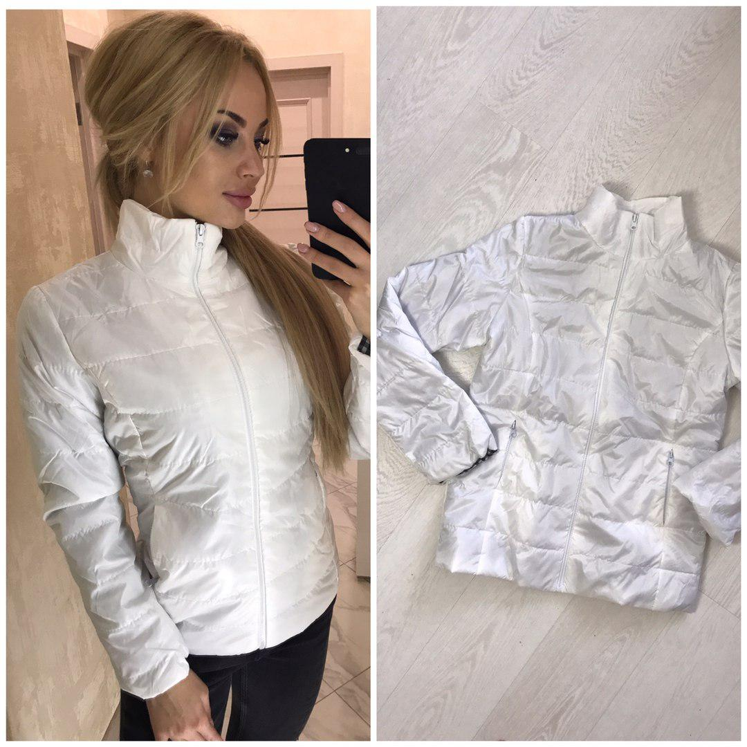 5eeb7e7f844 Белая Куртка Женская Фото