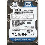 "HDD WD Mobile Scorpio Blue WD3200BPVT  2,5"" 320GB SATA ref (11мес гар)"